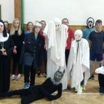 Halloweenské učení