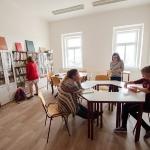 Knihovna a čítárna