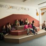 Učebna hudební výchovy