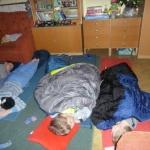 Spaní ve školní družině